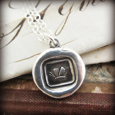 Butterfly Wax Seal Pendant-Shannon Westmeyer Jewelry