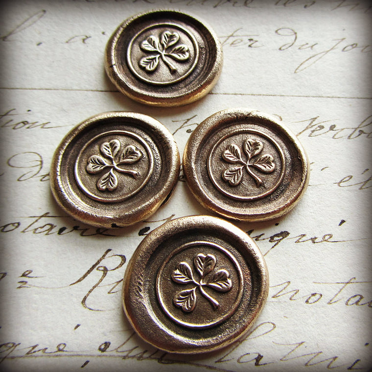 Four Leaf Clover Pocket Token Good Luck Token