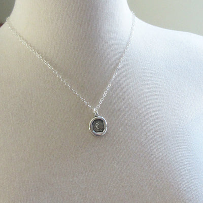 My Heart is Only for You Wax Seal Necklace-Shannon Westmeyer Jewelry