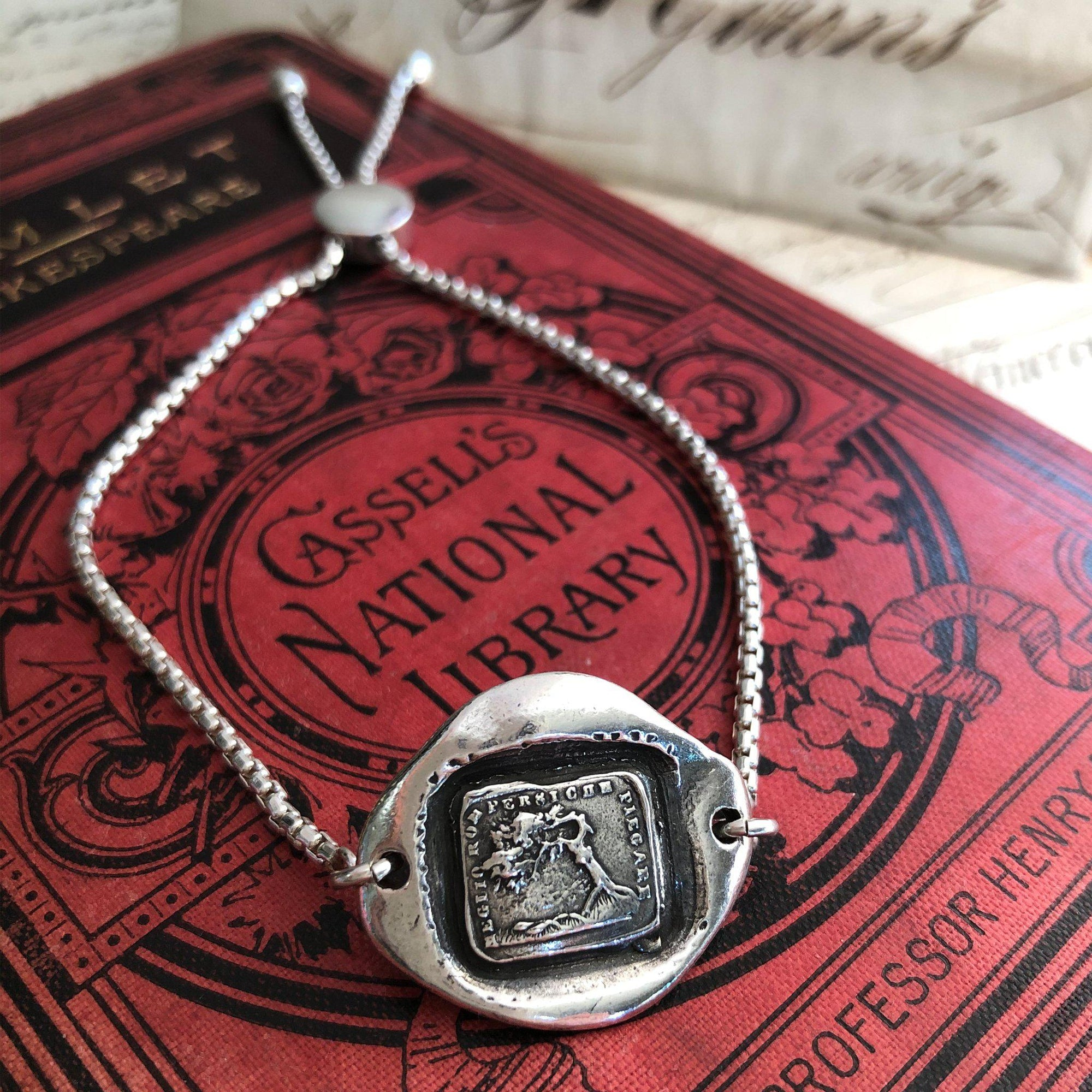 Bend Don't Break - Adjustable Wax Seal Bracelet