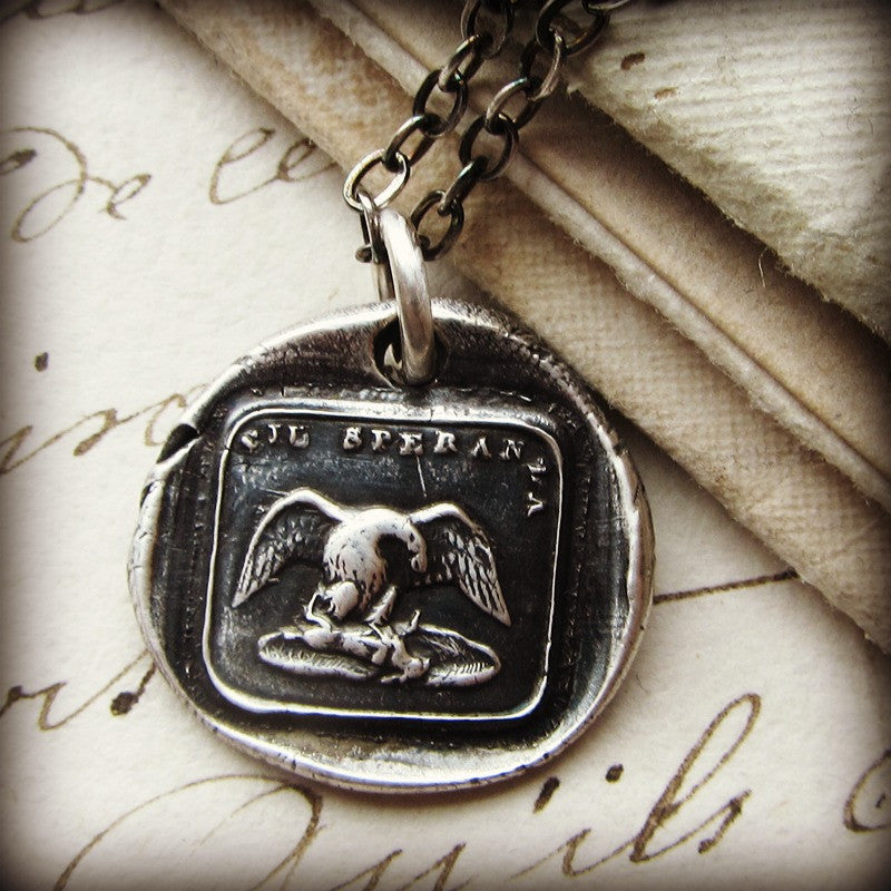 Eagle - I Shall Give No Mercy To My Opponent - Shannon Westmeyer Jewelry - 1