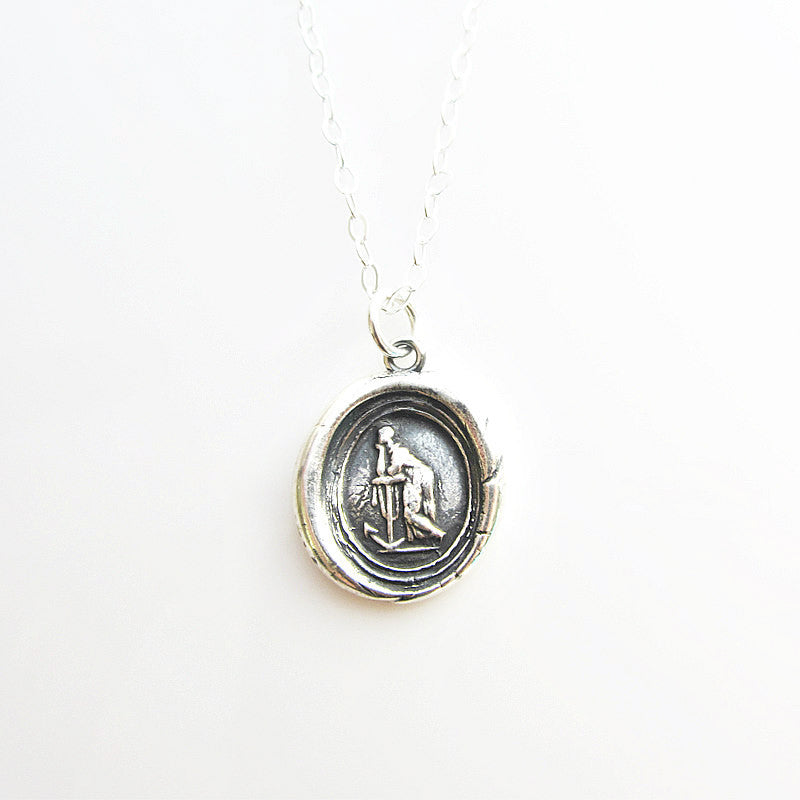 Faith Leaning on Hope - With Faith & Hope Anything is Possible - Shannon Westmeyer Jewelry - 3