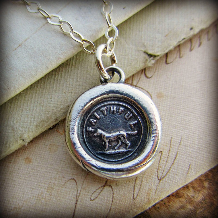 Faithful Dog Wax Seal - Forever Faithful - Shannon Westmeyer Jewelry - 1