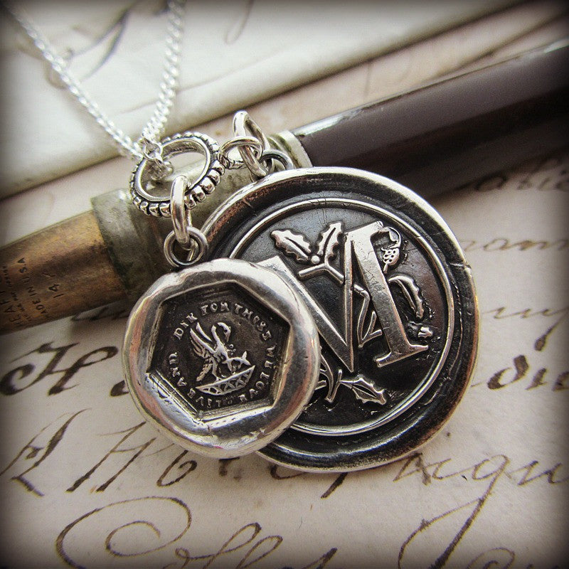 A Mothers Love - Personalized Wax Seal Medallion - Mom Would Do Anything for Us