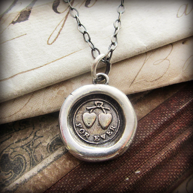 Forever Victorian Wax Seal Necklace
