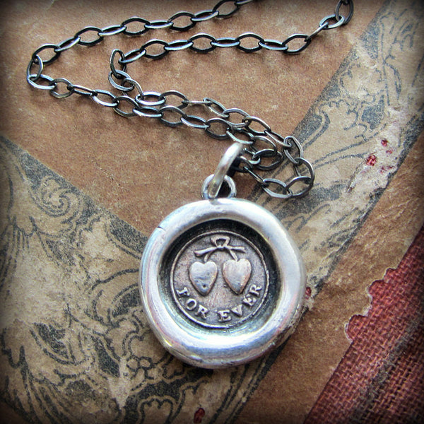 Forever Victorian Wax Seal Necklace - Shannon Westmeyer Jewelry - 1
