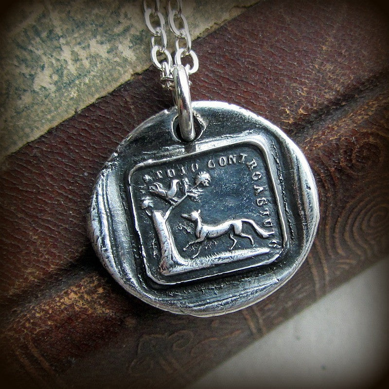 The Fox and the Rooster Aesop Fable Charm - The Truth Will Always Prevail - Shannon Westmeyer Jewelry - 3