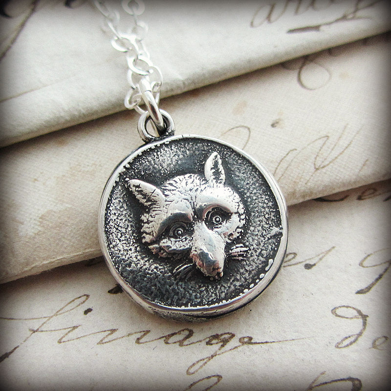 Fox - Wisdom & Wit Wax Seal Pendant-Shannon Westmeyer Jewelry