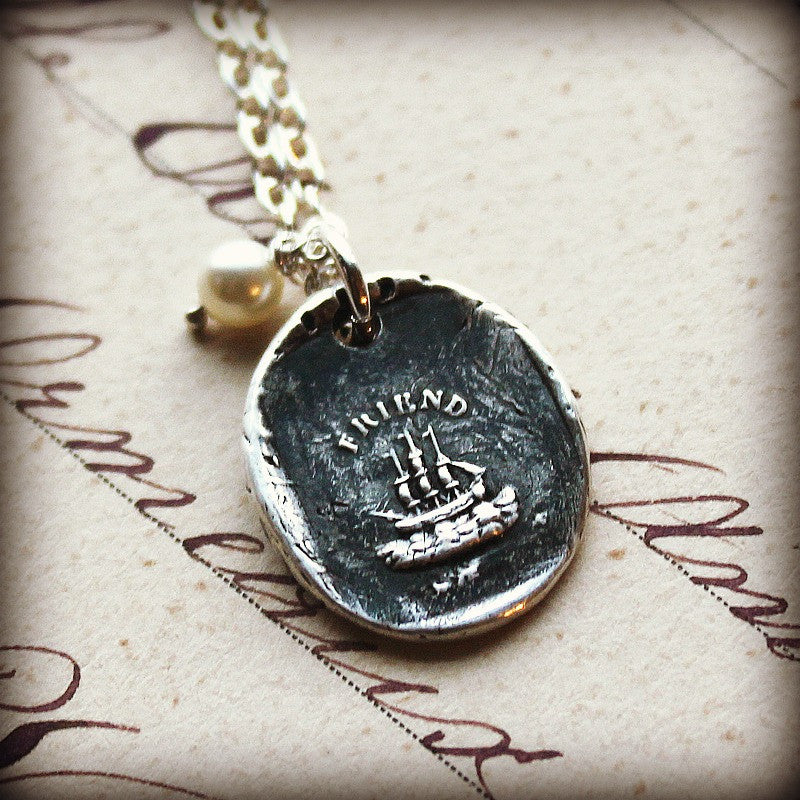 The Only Unsinkable Ship is Friendship - Enduring Friendship - Shannon Westmeyer Jewelry - 3