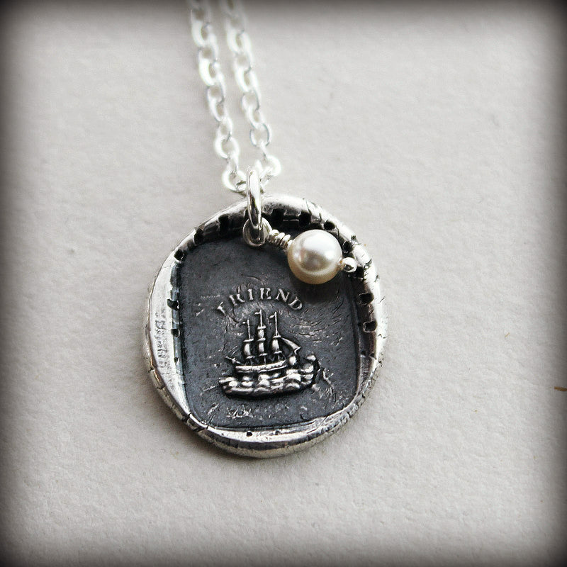 The Only Unsinkable Ship is Friendship - Enduring Friendship - Shannon Westmeyer Jewelry - 2
