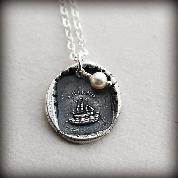 The Only Unsinkable Ship is Friendship - Enduring Friendship - Shannon Westmeyer Jewelry - 1