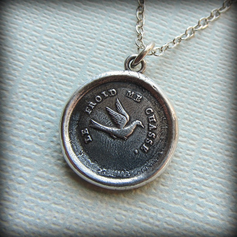 Swallow Wax Seal - Optimistic & Kindhearted - Shannon Westmeyer Jewelry - 3