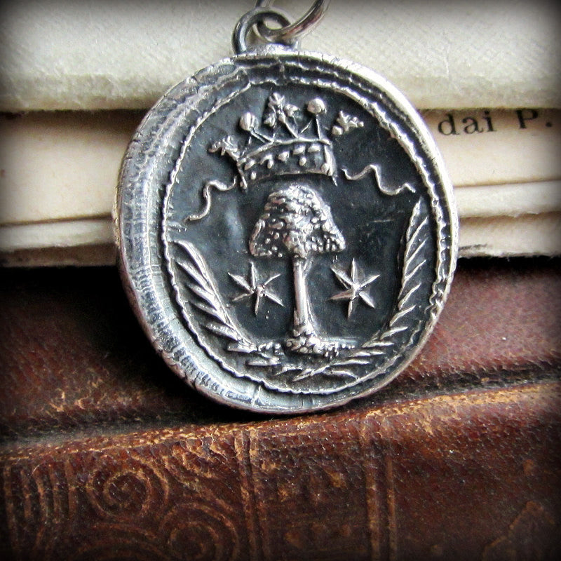 Guardian Family Tree silver wax seal