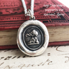 Elephant Wax Seal Charm - Strength, Wit and Ambition - Good Luck Symbol
