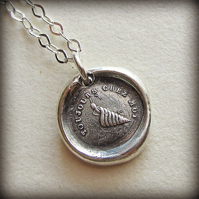 Always At Home Wax Seal Necklace