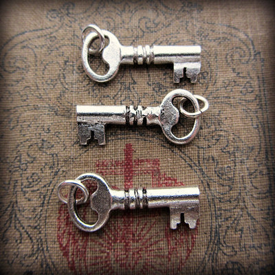 Vintage Key Charm - Shannon Westmeyer Jewelry - 1