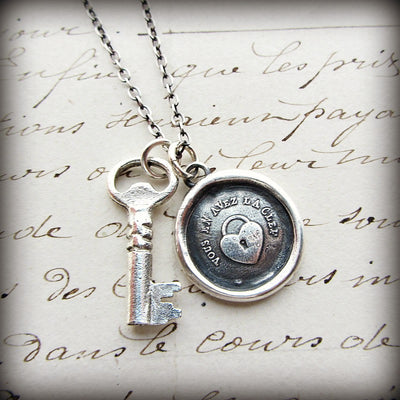 Vintage Key Charm - Shannon Westmeyer Jewelry - 3