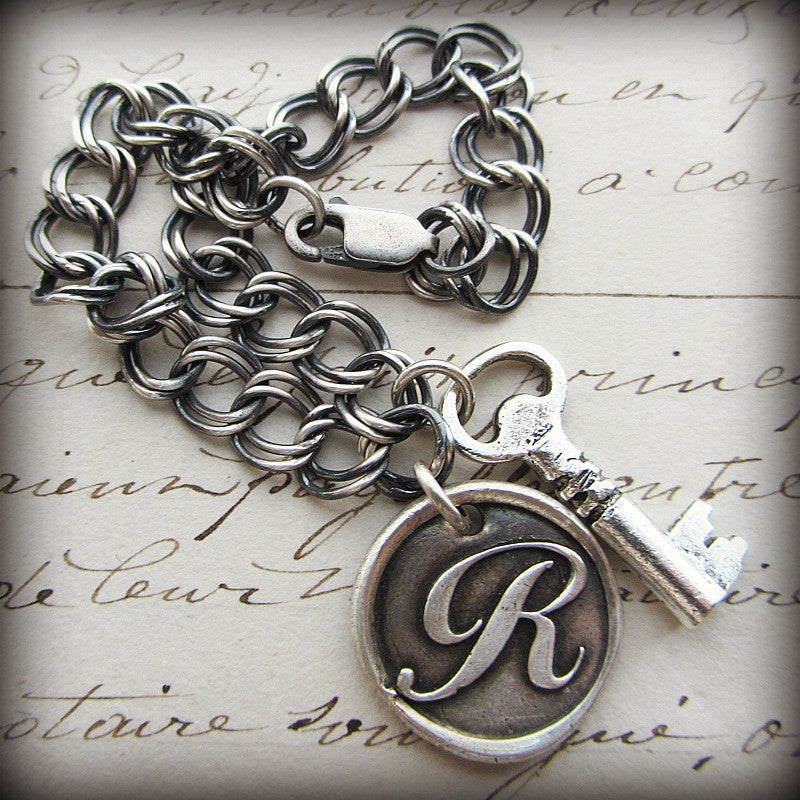 Vintage Key Charm - Shannon Westmeyer Jewelry - 4