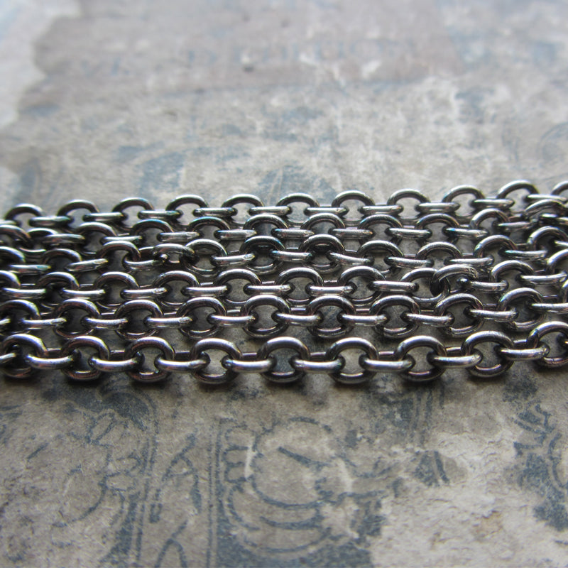 Chunky Sterling Cable Chain