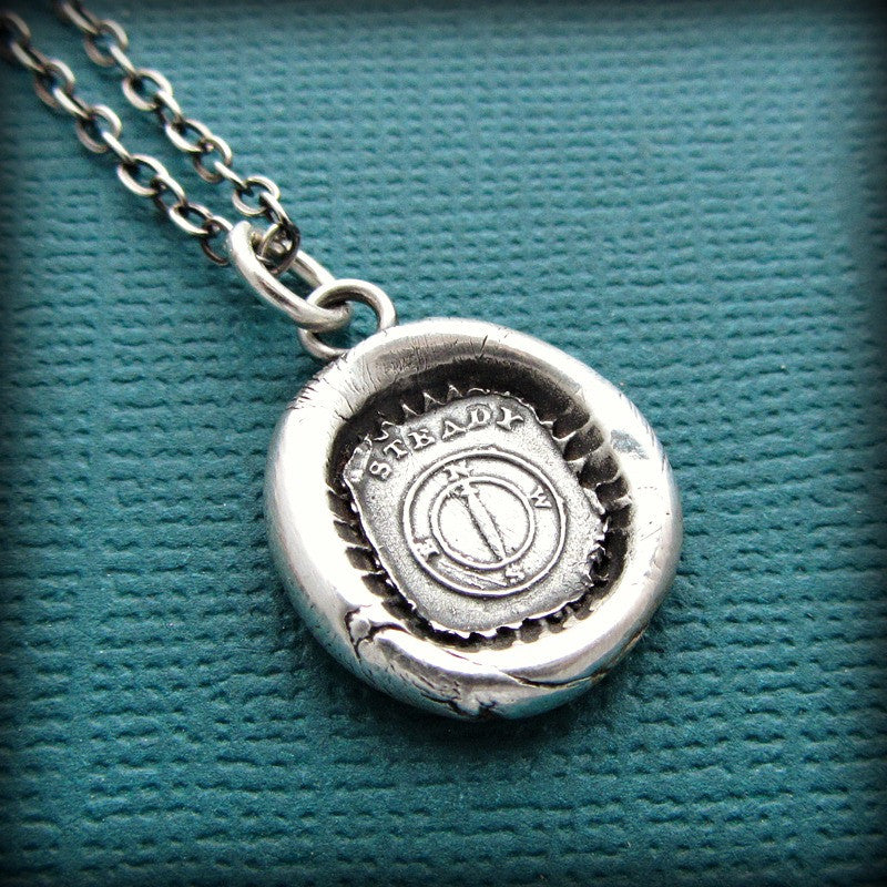 Mariners Compass Wax Seal - You are the Captain of your Journey - Shannon Westmeyer Jewelry - 3