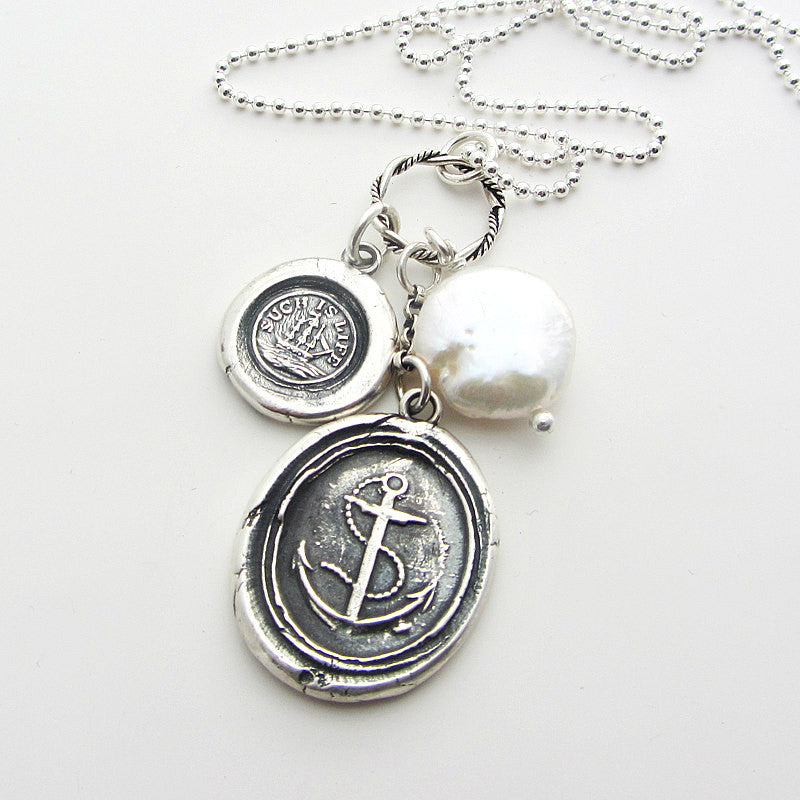 An Anchor Through Life's Storms - Shannon Westmeyer Jewelry - 1