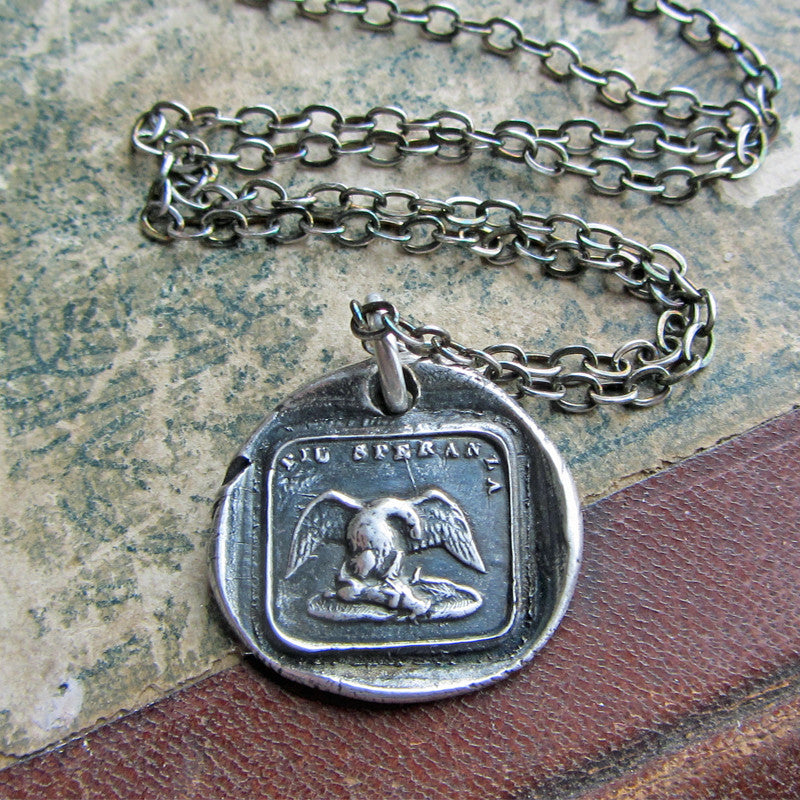 Eagle - I Shall Give No Mercy To My Opponent - Shannon Westmeyer Jewelry - 2