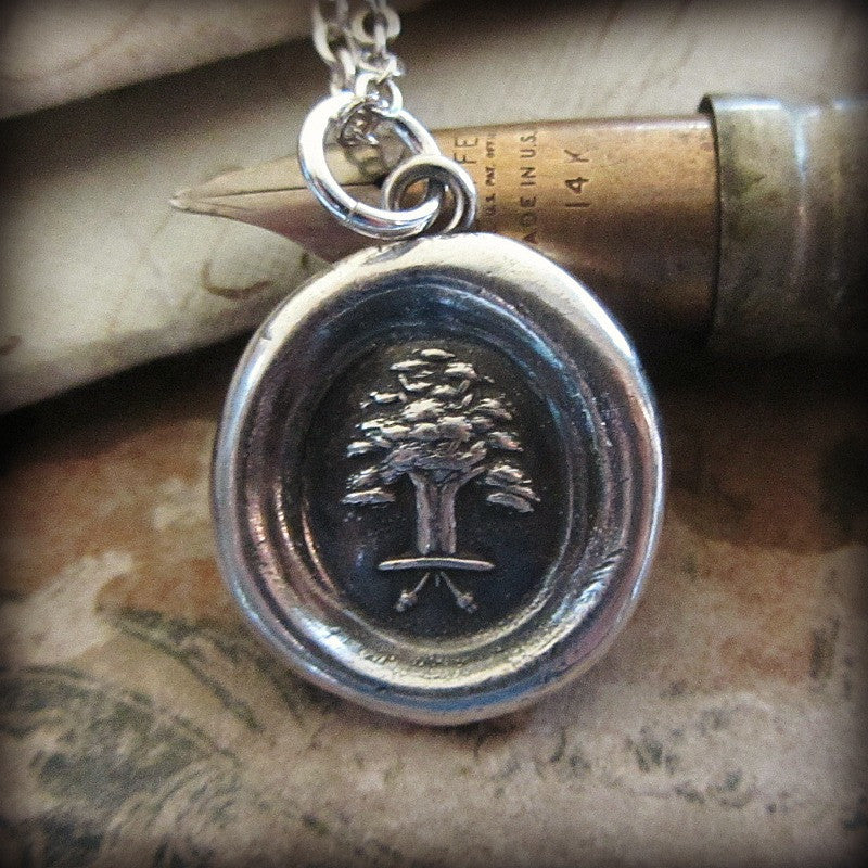 The Oak and The Acorn - Great Things Have Small Beginnings - Shannon Westmeyer Jewelry - 2