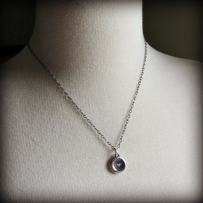 Tiny Heart Wax Seal Necklace - Shannon Westmeyer Jewelry - 4
