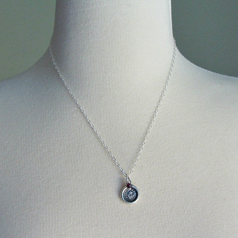 Forget Me Not Memorial Necklace - Shannon Westmeyer Jewelry - 4