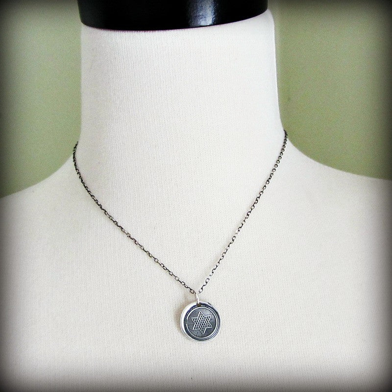 Rising Star Wax Seal Necklace - Shannon Westmeyer Jewelry - 4
