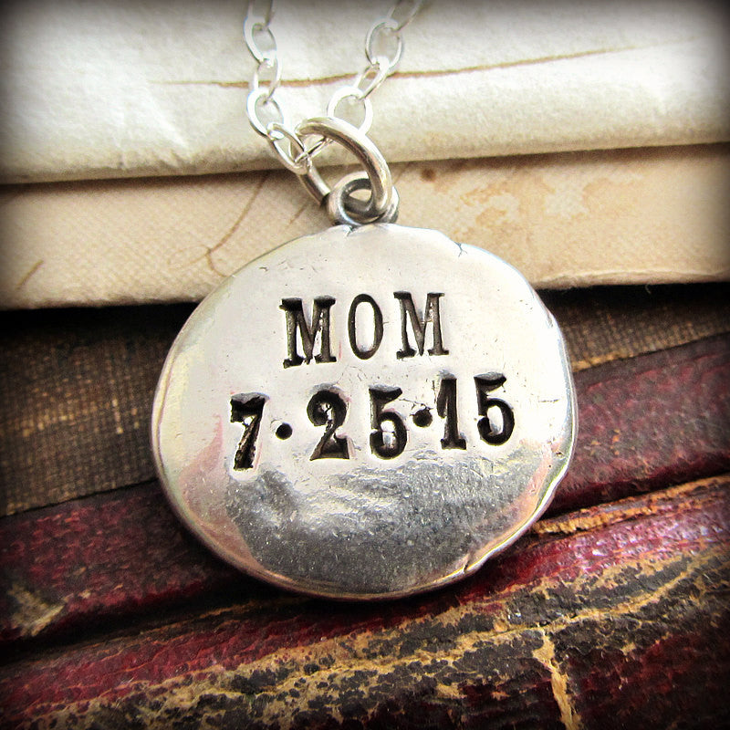 Though Lost to Sight To Memory Dear - Memorial Necklace - Shannon Westmeyer Jewelry - 2