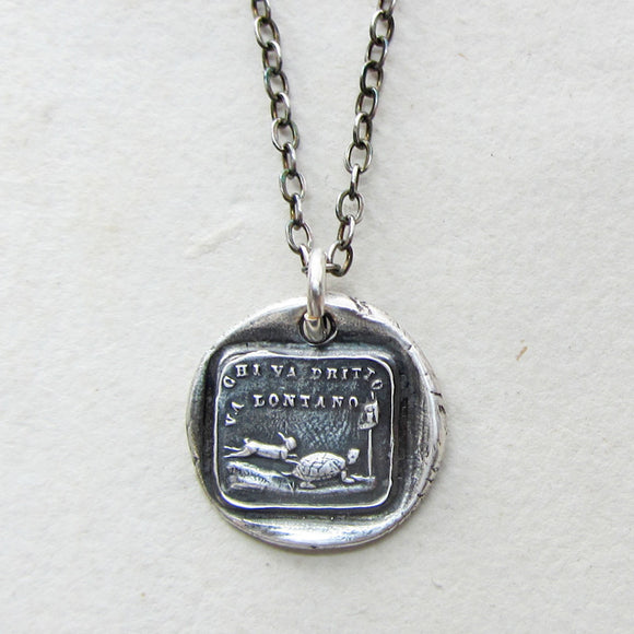 The Tortoise and the Hare - Slow & Steady Wins the Race - Shannon Westmeyer Jewelry - 1