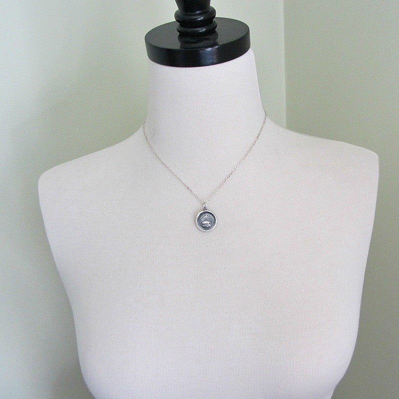 Turtle Wax Seal Necklace - Patience, Longevity & Endurance - Shannon Westmeyer Jewelry - 4