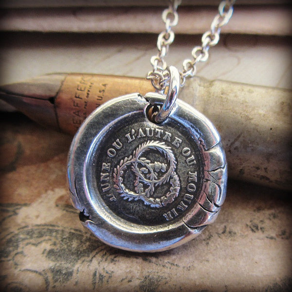Unity Wax Seal Necklace - Strength in Unity - Shannon Westmeyer Jewelry - 1