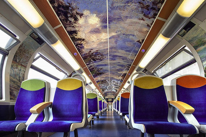 French Railway Creates Mobile Museums