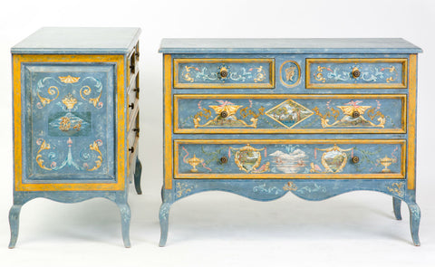 Pair of 18th Century Style Paolo Romano Chests