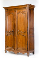 Walnut Media Armoire