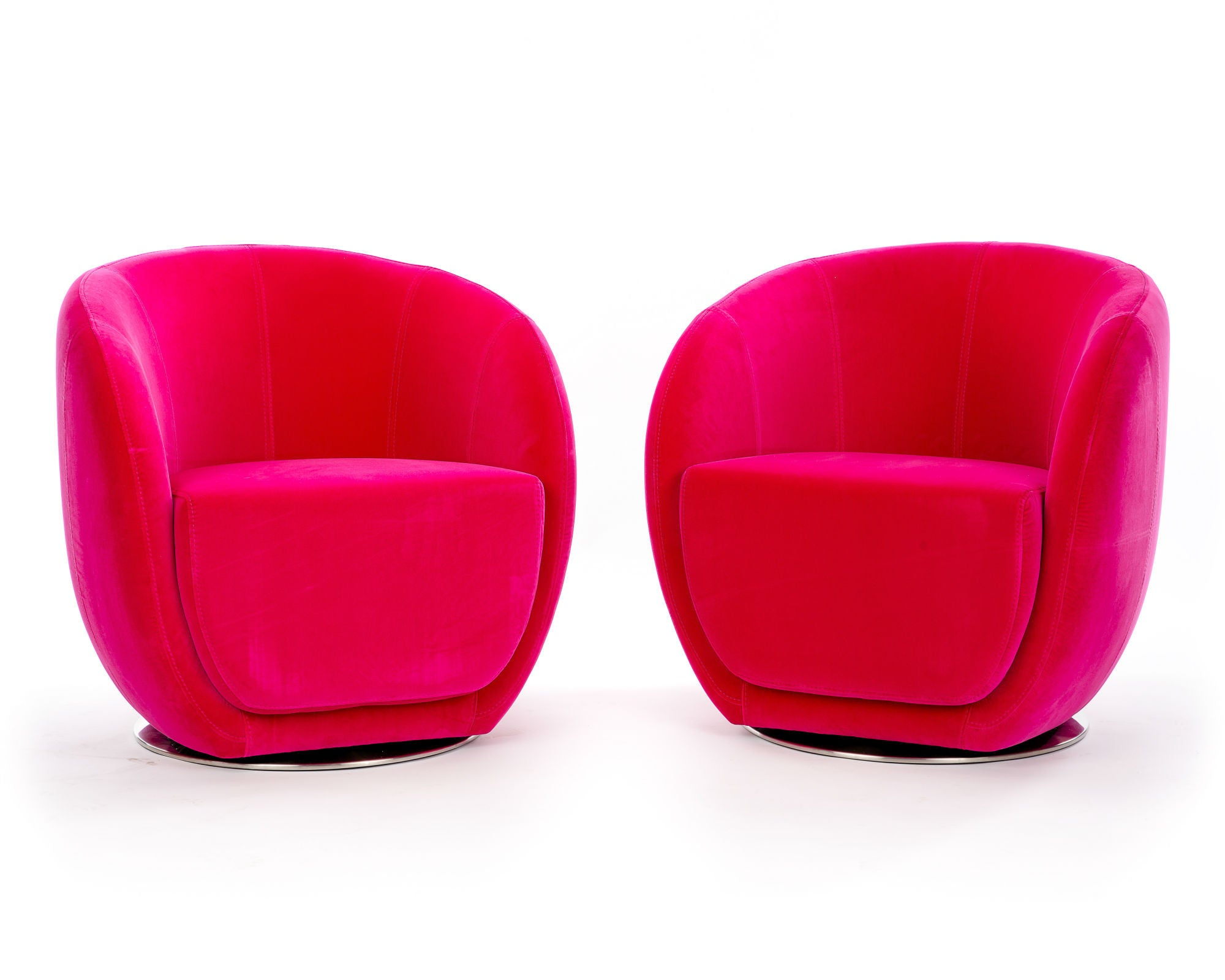 Fuchsia Ovo Rotative Chairs
