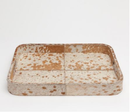 Browmley Hair-on-Hide Tray