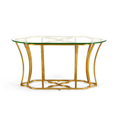MAGNOLIA COFFEE TABLE, GOLD