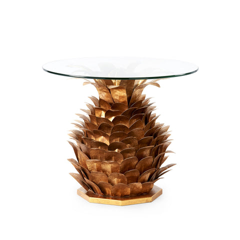 PINEAPPLE SIDE COCKTAIL TABLE BASE