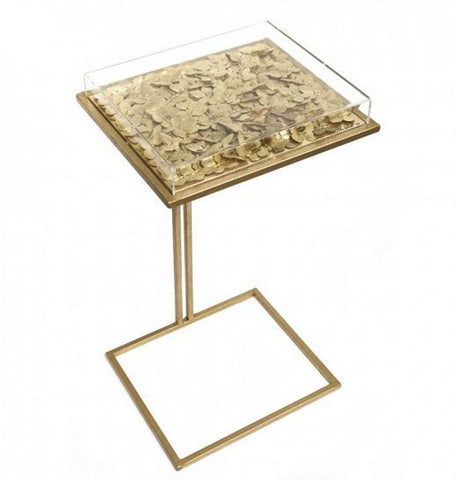 Gilded Butterfly Cocktail Table