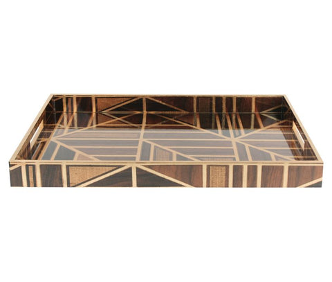 Parquet Tray, Large