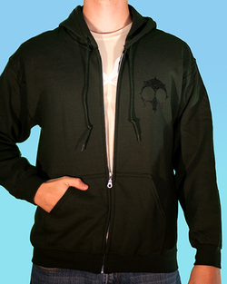 Hero of Doom Zipper Hoodie
