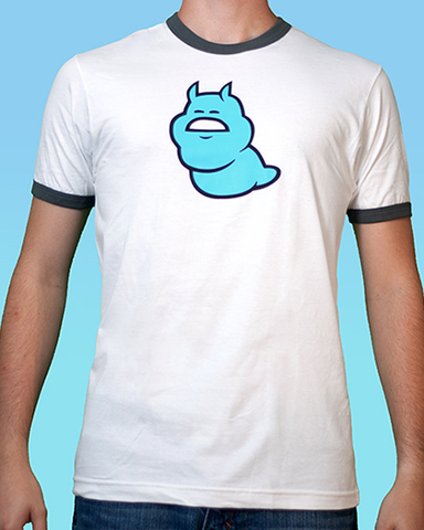 Jane Crocker Cyan Ghost Beast Tee (Men's)