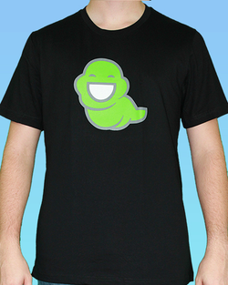 John Egbert Dark Slime Ghost Tee (Men's and Women's)