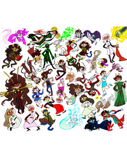 """Ladies of Homestuck"" Art Print"