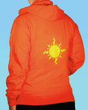 Hero of Light Zipper Hoodie