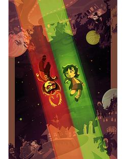 """A Missed Connection"" HIVESWAP Art Print"