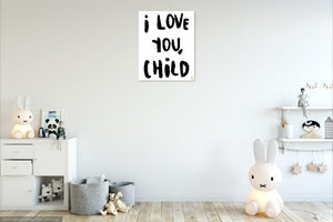 Love You Child Art